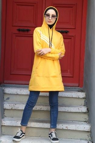 Giy Çık Şeritli Tunik 1199-10 - Thumbnail