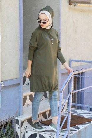 Giy Çık Triko Tunik 5121-04 - Thumbnail