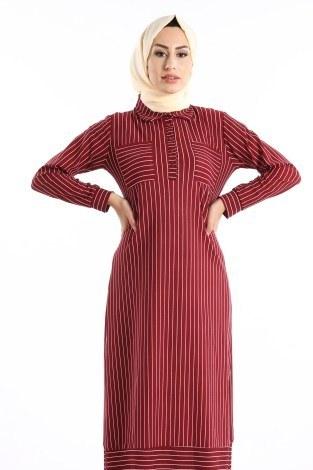 - Gömlek Tarzı Elbise 8875-02 (1)