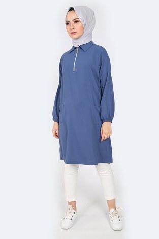 - Gömlek Yaka Tunik 1616-2