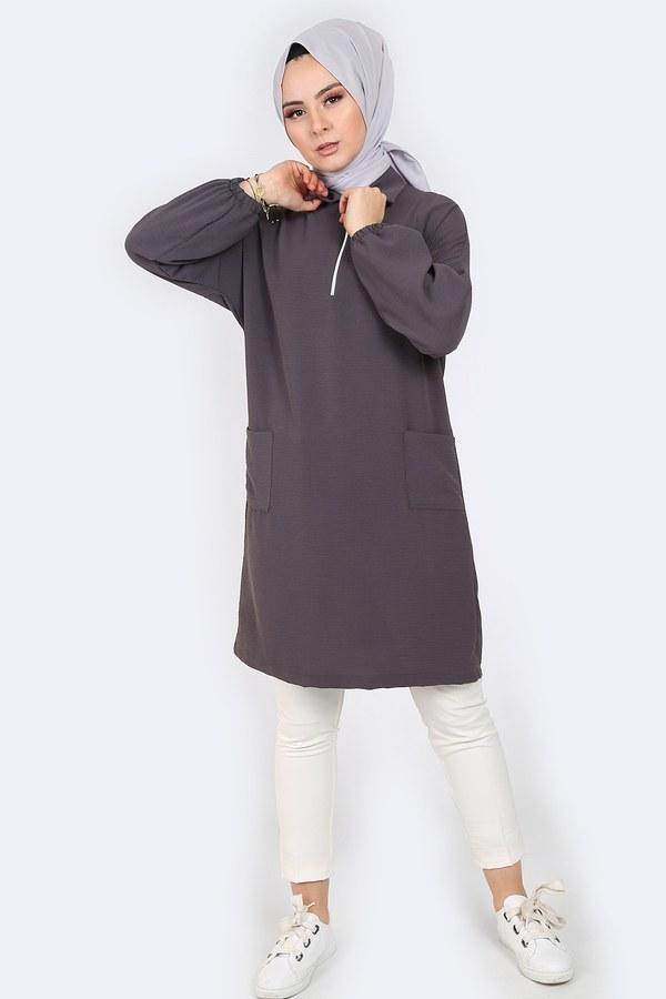 Gömlek Yaka Tunik 1616-3