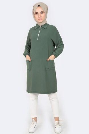 - Gömlek Yaka Tunik 1616-6