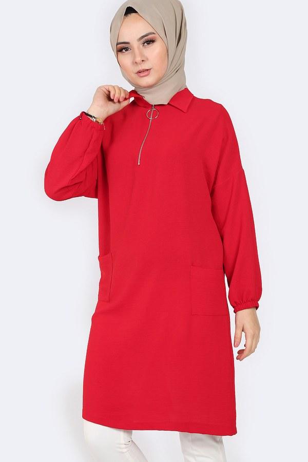 Gömlek Yaka Tunik 1616-9