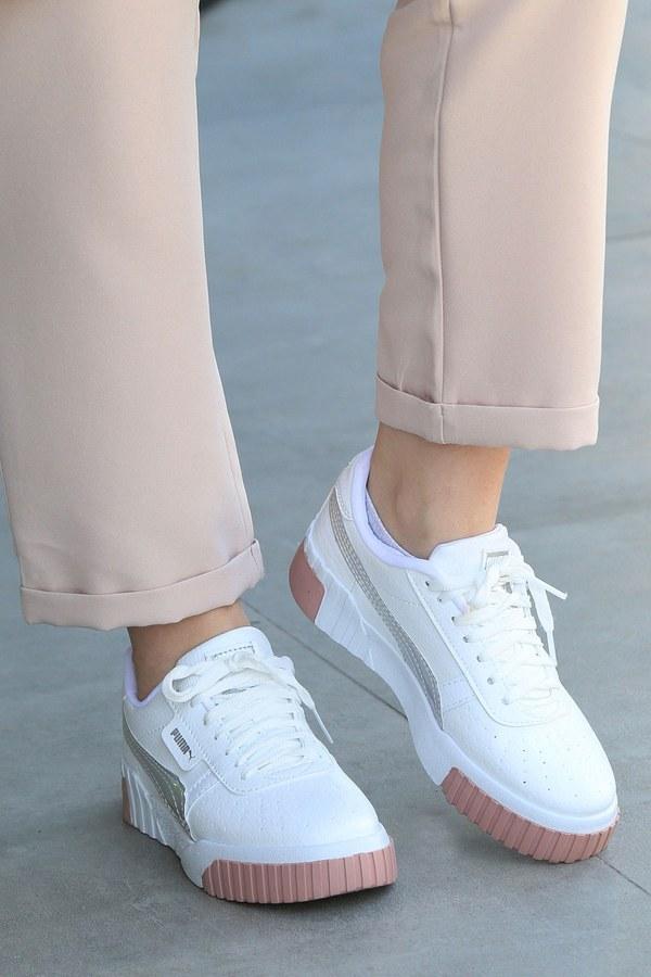 Günlük Beyaz Spor Ayakkabı 6149-3