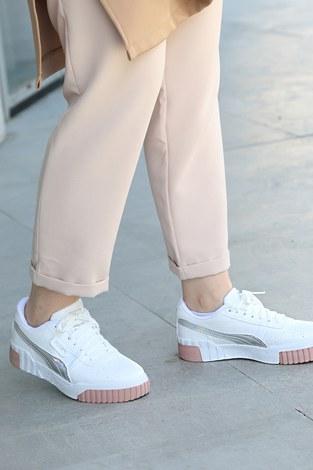 - Günlük Beyaz Spor Ayakkabı 6149-3 (1)
