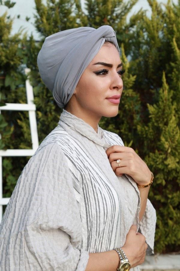 Eşarp ve Şal - Hazır Bone Şal 3819-14 (1)