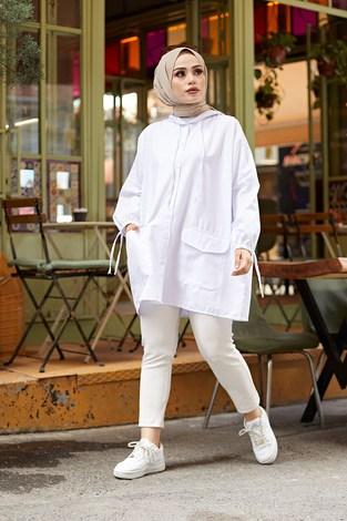 - Hood Spor Gömlek 8944-2 Beyaz (1)