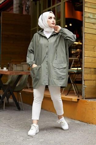 - Hood Spor Gömlek 8944-5 Haki (1)