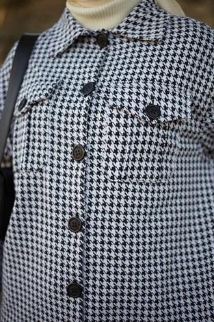 - HOT Kazayağı Salaş Kışlık Gömlek 7358-5 Siyah (1)
