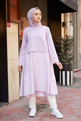 - HOT Salaş Tunik 22101-3 Lila
