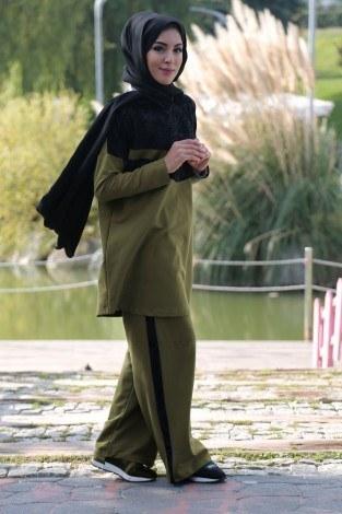 - Kadife Detaylı Tarz Eşofman Takımı 99196-2 (1)
