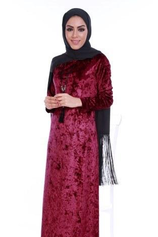 - Kadife Elbise 2159-3 (1)