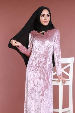 - Kadife Elbise 2159-1 (1)