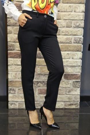 Bilek Pantalon siyah 8316-4 - Thumbnail