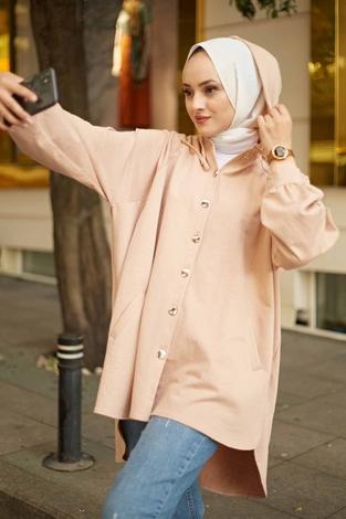 - Kapşonlu Giy-Çık 10022-4 Camel (1)