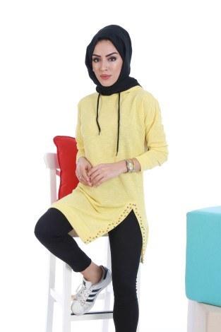 - Kapşonlu Şık Spor Tunik 7296-05 (1)