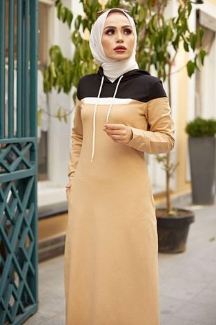 - Kapşonlu Spor Elbise 9348-3 (1)