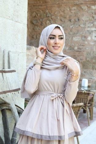 - Katlı Tarz Elbise 5968-2 (1)