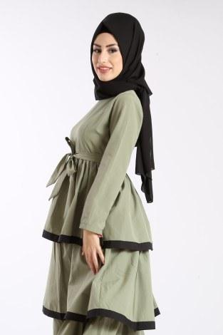 - Katlı Tarz Elbise 5968-3 (1)