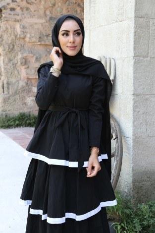 - Katlı Tarz Elbise 5968-1 (1)