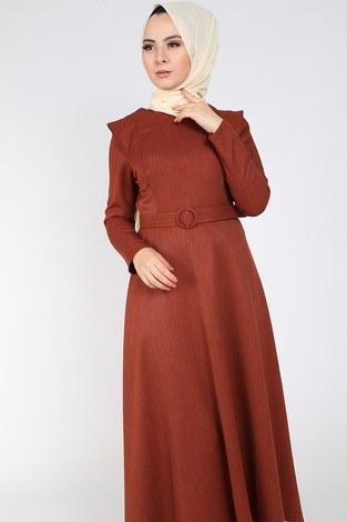 - Kemerli Elbise 6330-15 taba (1)