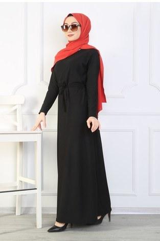 - Kemerli Elbise 8508-380 (1)