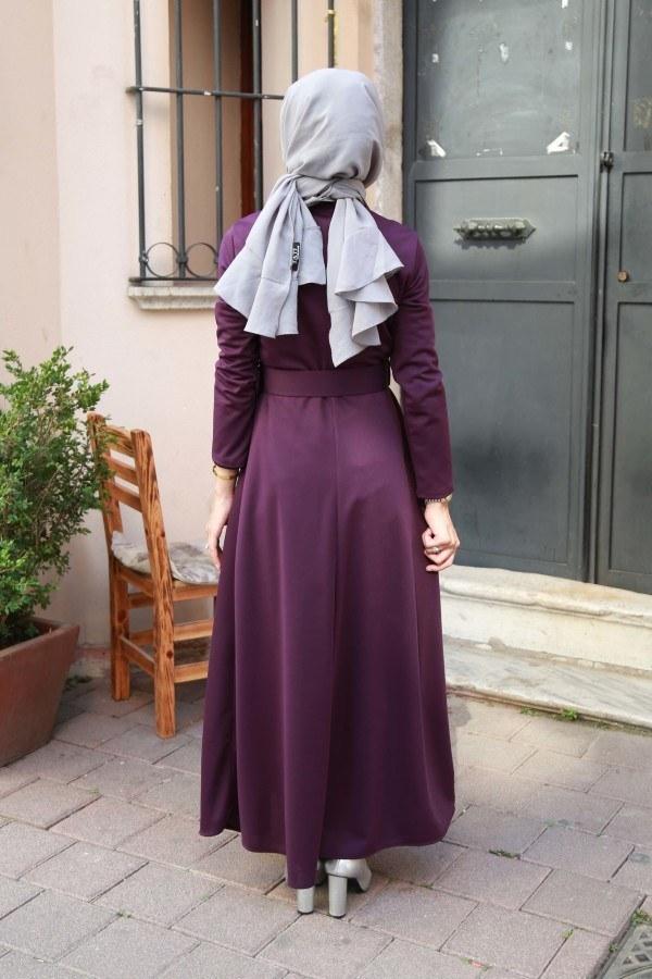 Kemerli Elbise 91101-04