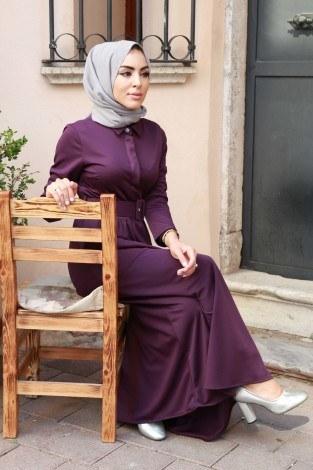 - Kemerli Elbise 91101-04 (1)
