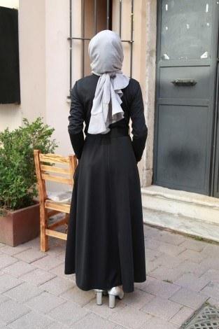 Kemerli Elbise 91101-05 - Thumbnail