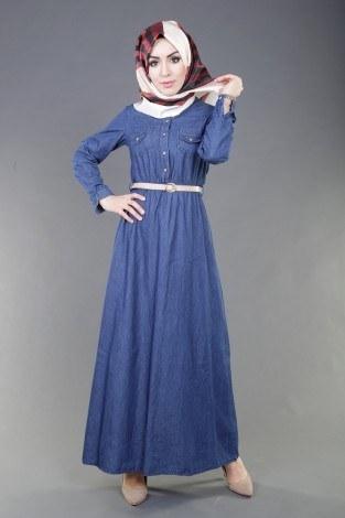 f56836542c2a6 Tesettür Elbise Modelleri ve Fiyatları | Modasena.com