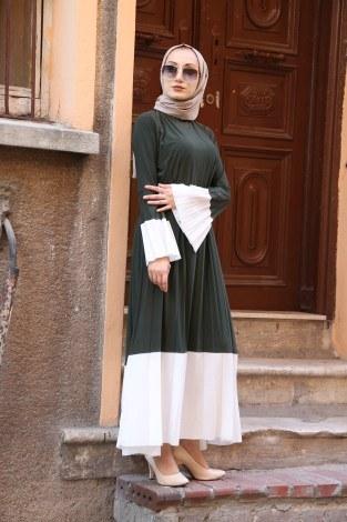 - Kemerli Pilise Elbise 8392-04 (1)