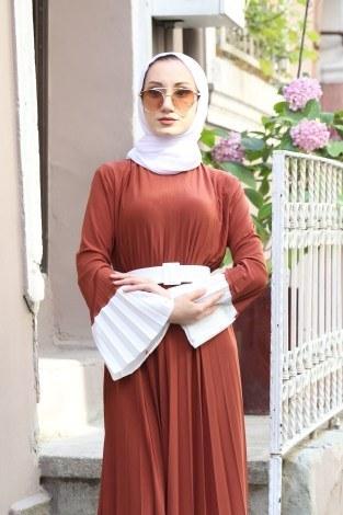 - Kemerli Pilise Elbise 8392-16 (1)