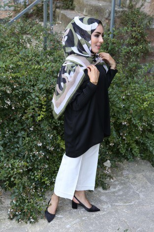 Kolları Piliseli Tunik Bluz 5319-5 - Thumbnail