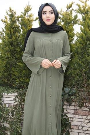 - Kolları Volenli Ferace Elbise 5380-1 (1)