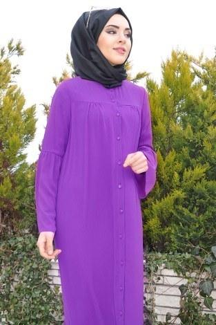- Kolları Volenli Ferace Elbise 5380-2 (1)