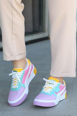 - Kontrast Renkli Spor Ayakkabı 6149-5 (1)