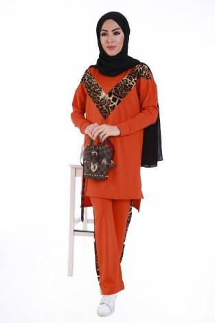 Krep Örme Eşofman Takım 5511-03 - Thumbnail
