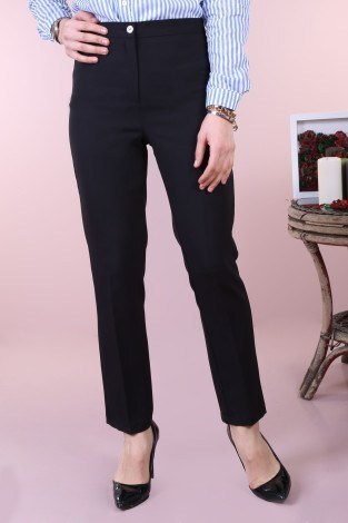 - Kumaş pantolon 121212-1-siyah