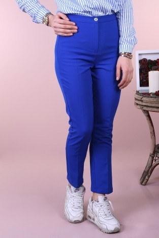 - Kumaş pantolon 121212-3 saks