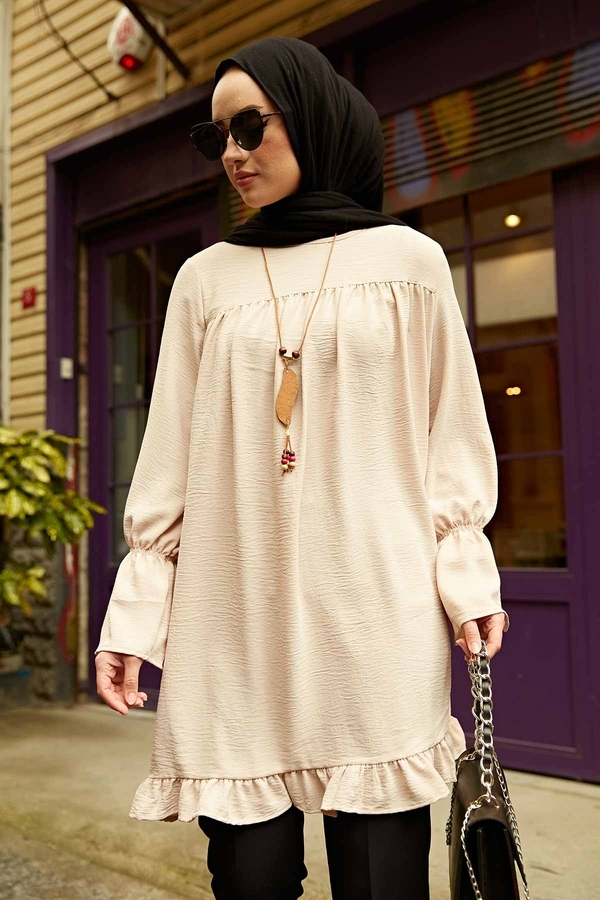 Lilyum Tunik 350TH-4067 Bej