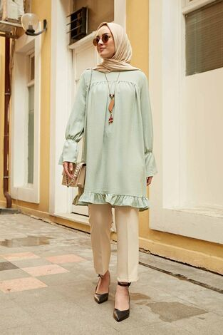 Lilyum Tunik 350TH-4067 Mint - Thumbnail