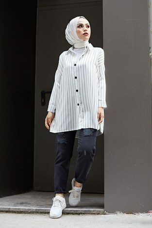 - Line Gömlek 8988-2 Beyaz