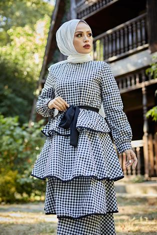 - Loula Elbise 8902-1 Siyah (1)