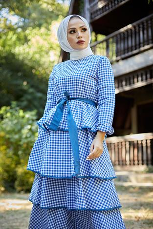 - Loula Elbise 8902-3 Mavi (1)