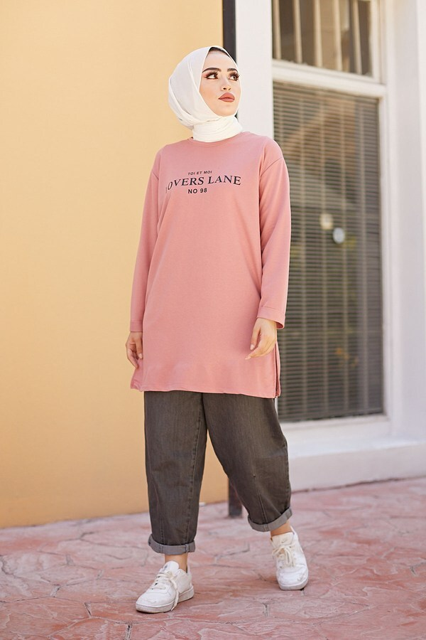Lovers Lane Sweat-Tunik 9792-22 Gülk.