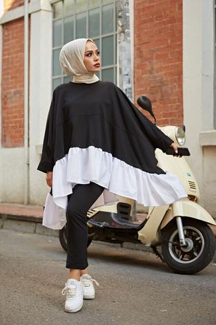 Luxury İkili Takım 8456-1 Siyah - Thumbnail