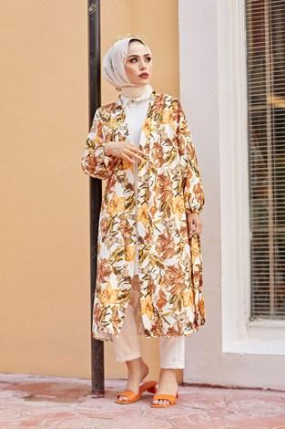 - MDI Desenli Kimono 8293-2