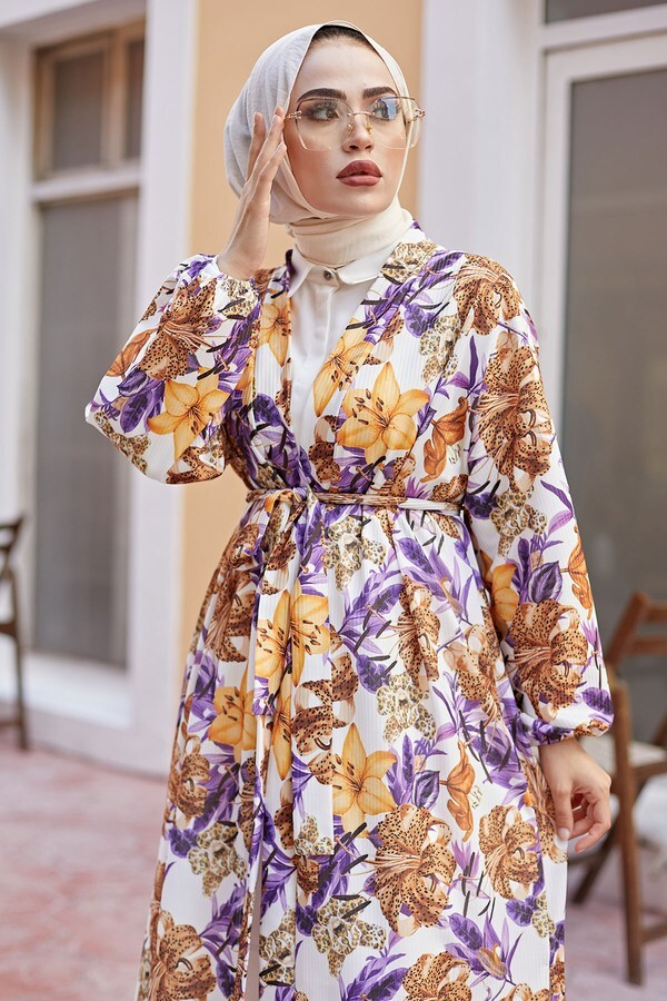 MDI Desenli Kimono 8889-14