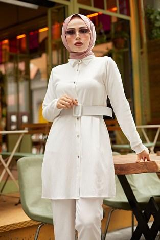 - MDI Eva İkili Takım 3464-9 Beyaz (1)