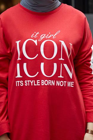 - AVEN Icon Spor Takım 1140-2 Kırmızı (1)
